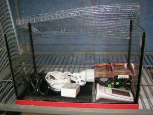 Cage Hôpital avec son matériel
