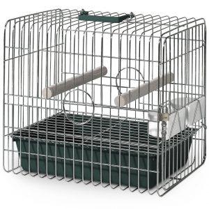 Exemple de cage de transport pour perroquet