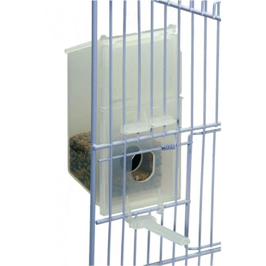 mangeoire economique en plastique pour oiseaux exotiques 250 gr 4 79. Black Bedroom Furniture Sets. Home Design Ideas