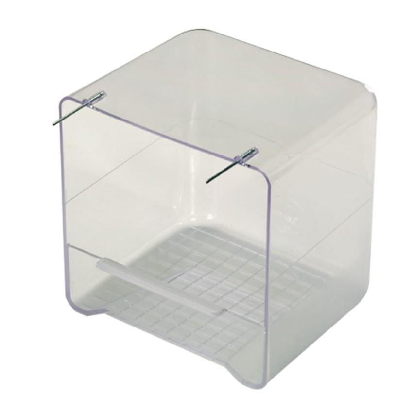 baignoire en plastique transparent pour perruches 4 00. Black Bedroom Furniture Sets. Home Design Ideas