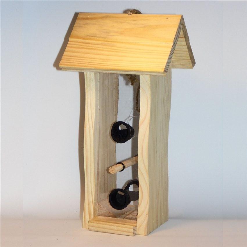 silo graines en bois et parois transparentes pour. Black Bedroom Furniture Sets. Home Design Ideas