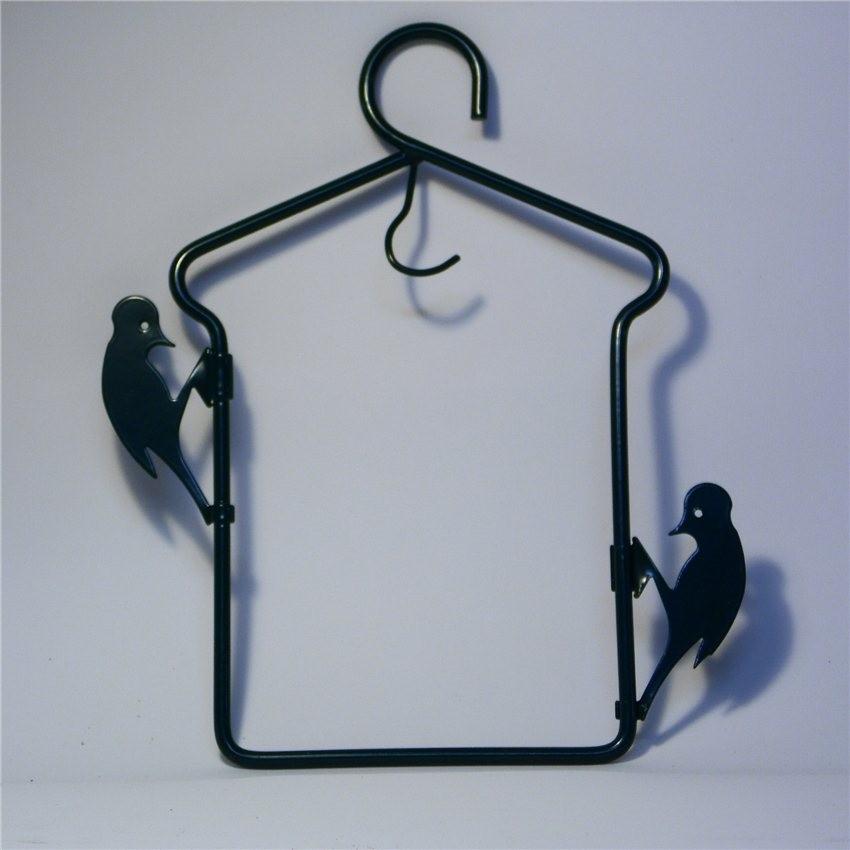 Porte boule de graisse m tallique pour oiseaux du ciel 4 25 - Porte boule de graisse pour oiseaux ...