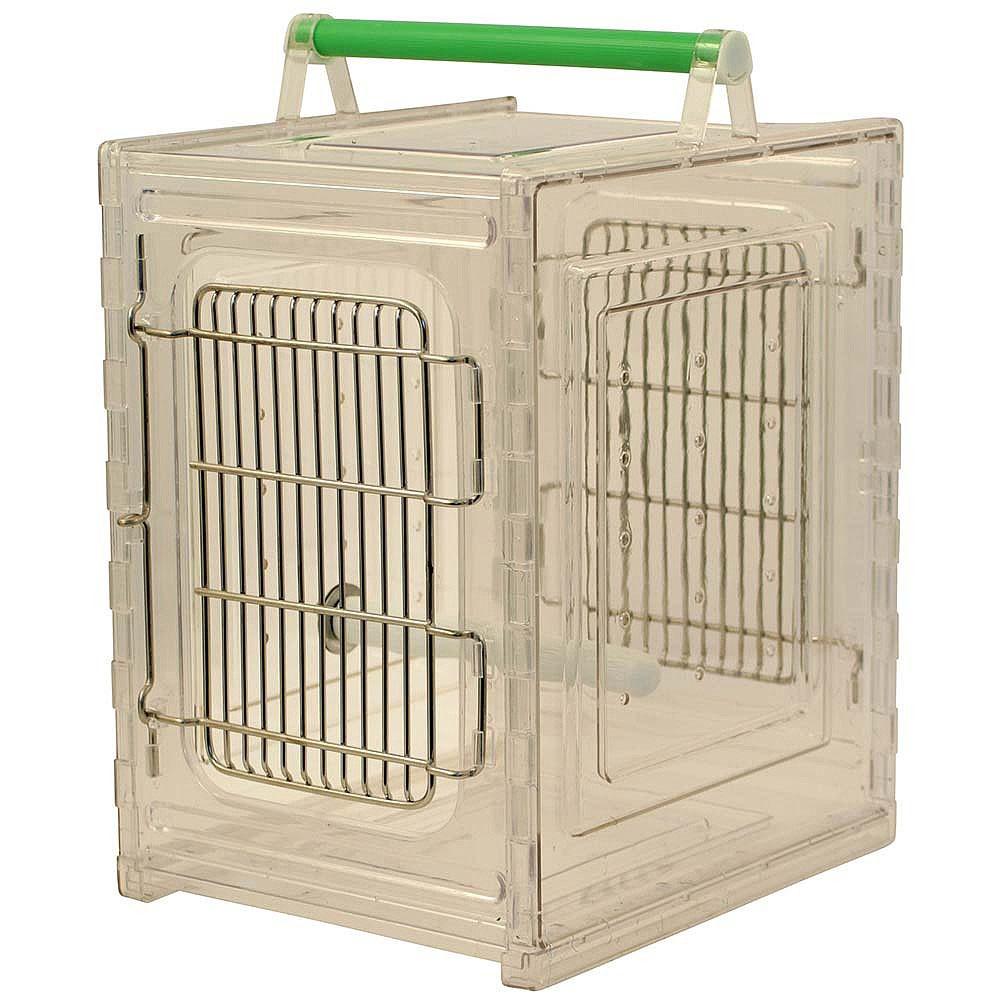 cage de transport acrylique perch and go 129 50. Black Bedroom Furniture Sets. Home Design Ideas