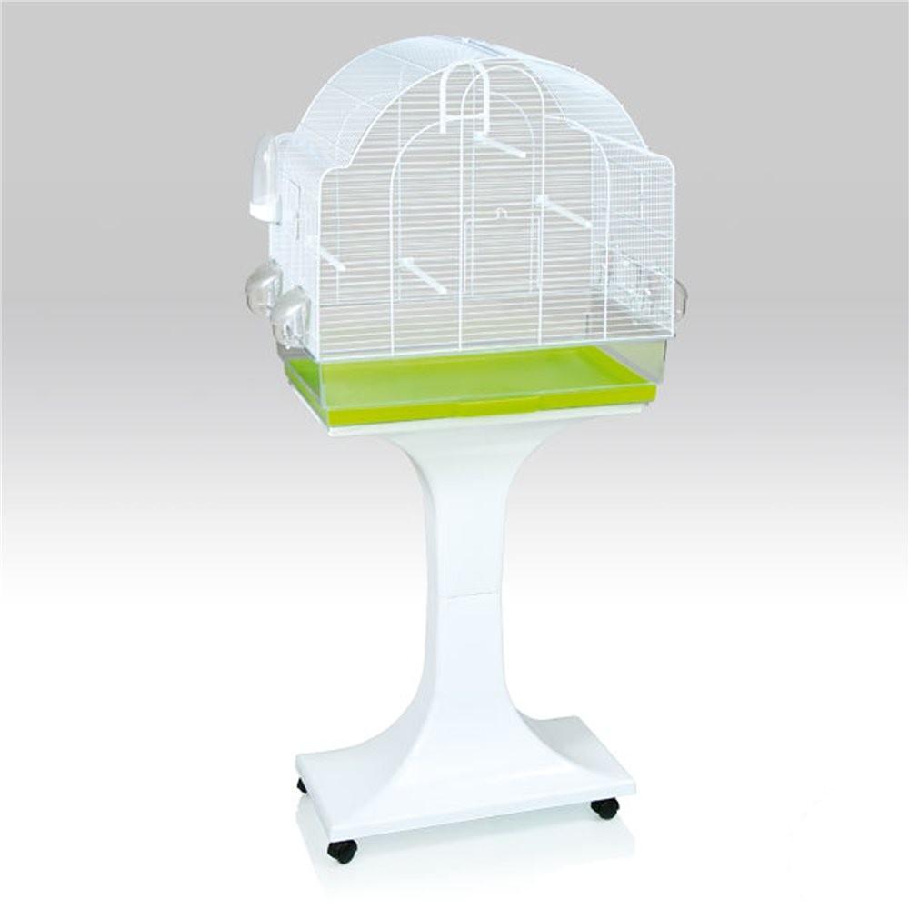 fop cage chiara blanche avec pied cage oiseaux et exotiques 119 90. Black Bedroom Furniture Sets. Home Design Ideas