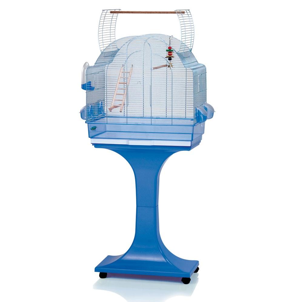 fop cage oiseaux sur pied afra zincata 105 90. Black Bedroom Furniture Sets. Home Design Ideas