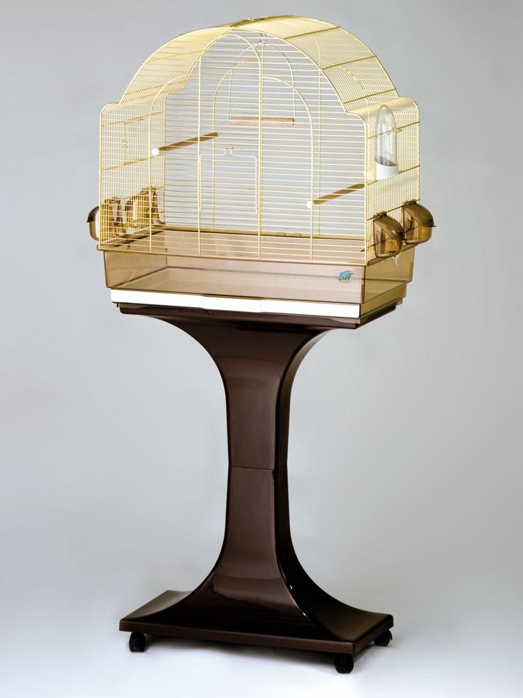 fop cage oiseaux sur pied chiara laiton 119 90. Black Bedroom Furniture Sets. Home Design Ideas