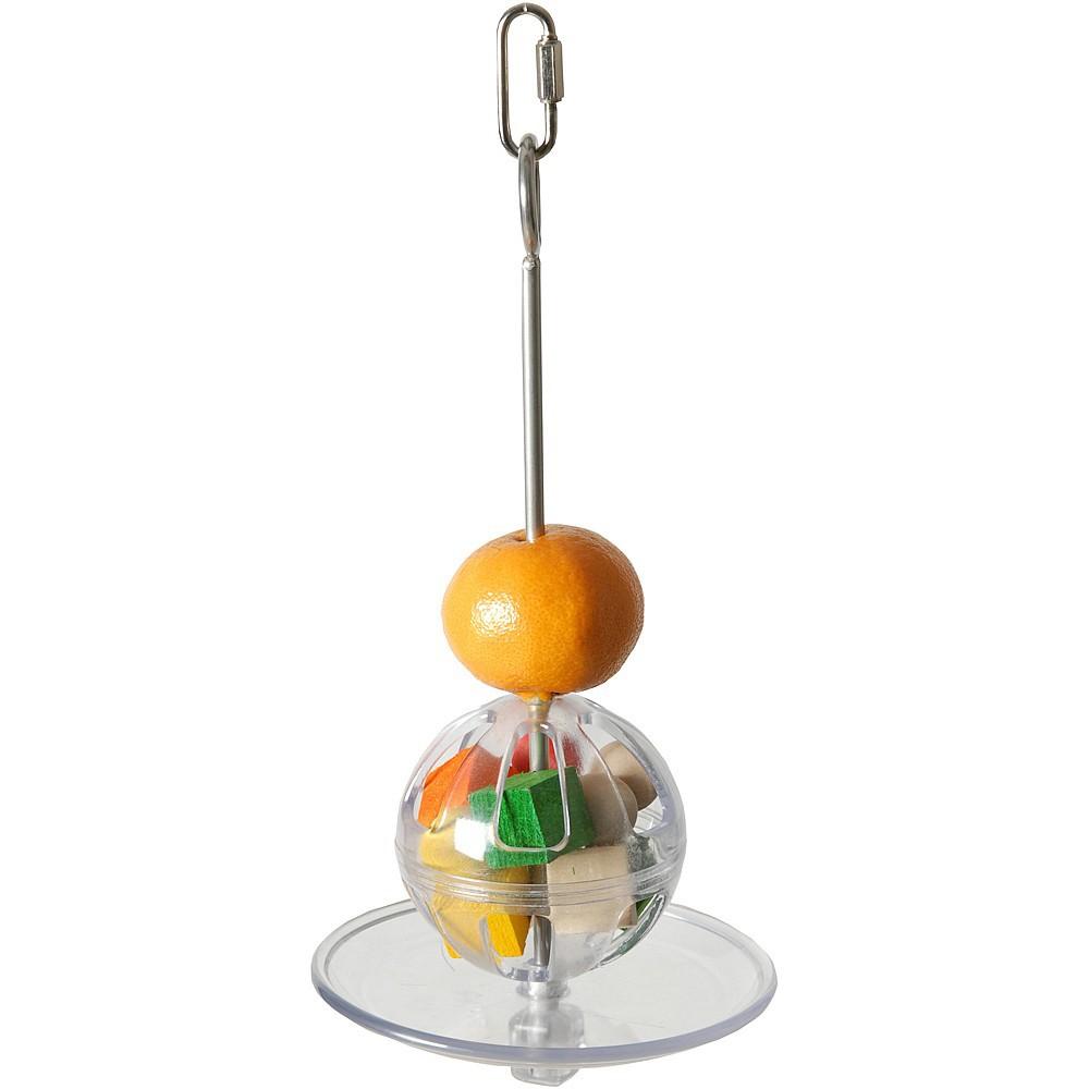 buffet ball suspendu distributeur alimentaire pour perroquet 23 29. Black Bedroom Furniture Sets. Home Design Ideas