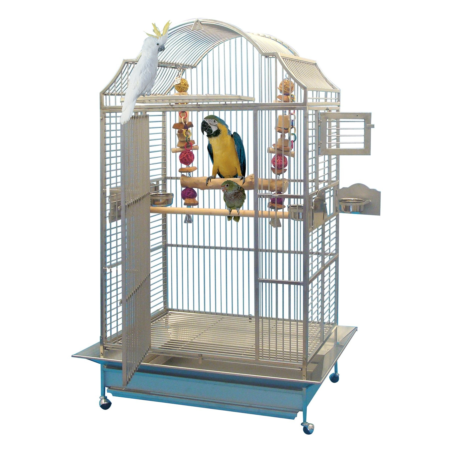 cage inox perroquet king 39 s cages mod le 306 inox 1 700. Black Bedroom Furniture Sets. Home Design Ideas