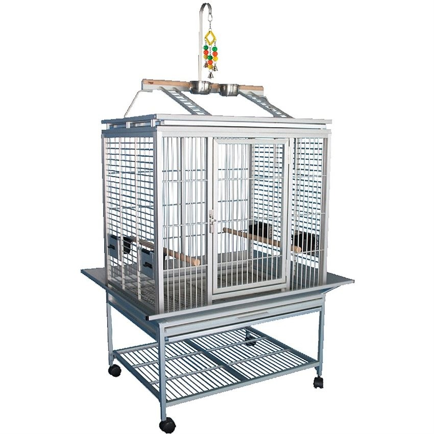 cage aluminium perroquet king 39 s cages mod le acp3325. Black Bedroom Furniture Sets. Home Design Ideas