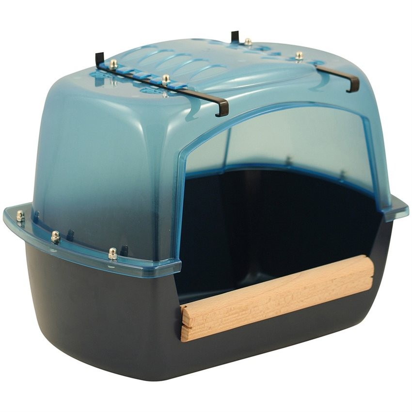 Baignoire splash en plastique pour grandes perruches et for Baignoire rectangulaire grande largeur