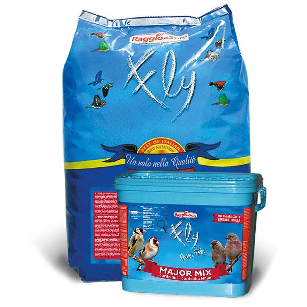 Raggio di sole major mix 12 kg m lange de graines pour - Graines de tournesol pour oiseaux ...