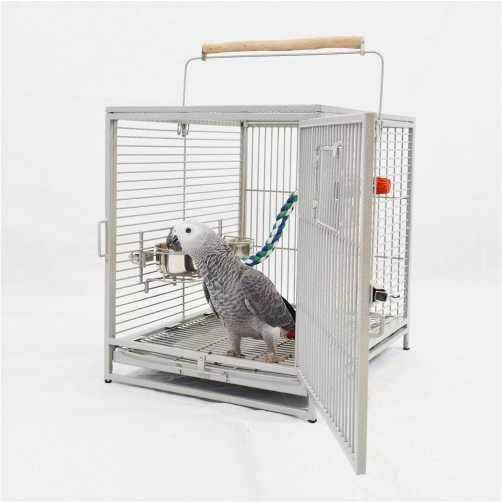 cage de transport traveller pour grandes perruches et. Black Bedroom Furniture Sets. Home Design Ideas