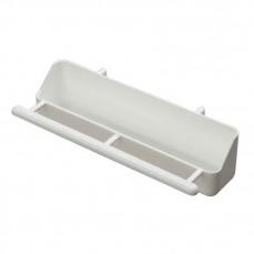 Mangeoire de Volière en Plastique  Blanc - 18 cm