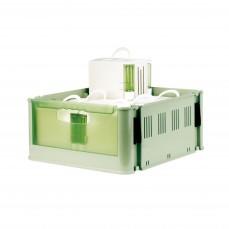 2GR - Mallette de Transport en Plastique avec 6 Transporteurs Secondino