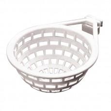 Nid Plastique Blanc pour Colombes - Ø11cm