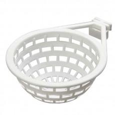 Nid en Plastique Blanc Italien Ø 11 cm