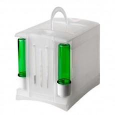 2GR - Boite de Transport Secondino en Plastique avec Poignée