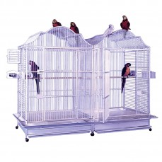 KING'S CAGES - Kit d'Adaptation pour Double Cage 506 Inox