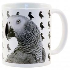 Mug Perroquet Gris du Gabon - 50 Nuances d'African Grey