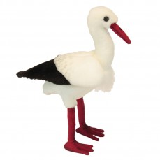 Hansa - Peluche de Collection Cigogne - 26 cm