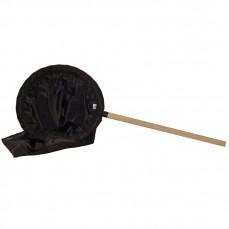 Epuisette Noire et Cadre Rembourré - Ø 30 cm