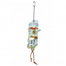 Jouet de Foraging Tug'n Slide - Distributeur Alimentaire pour perroquets
