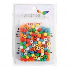 Perles multicolores en Plastique - Pièces de Jouet pour Oiseaux - 300 Pièces