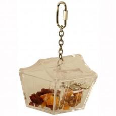 Jouet de Foraging Coffre aux Trésors - Distributeur Alimentaire pour perroquets