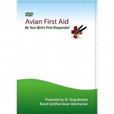 Avian First Aid DVD - DVD de Premiers Soins pour oiseaux