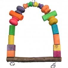 Balançoire Color - Jouet Perroquet