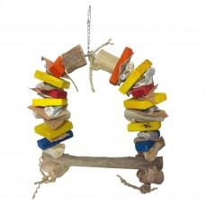 Balançoire Crunch Medium - Jouet perroquet