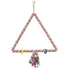 Triangle de Coton Large - Jouet Perroquet