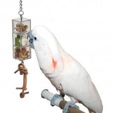 La Tourelle de Foraging -Distributeur Alimentaire pour Perroquet