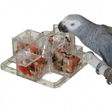 Le Carrousel Interactif - Distributeur Alimentaire pour Perroquet