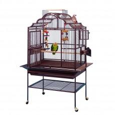 Cage Perroquet KING'S CAGES - Modèle 3224 Cuivre - Espacement 19 mm