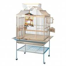 Cage Inox Perroquet KING'S CAGES - Modèle 3224 Inox