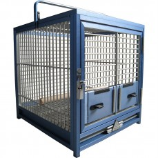 Cage de Transport Perroquet en Aluminium - KING'S CAGES TC01