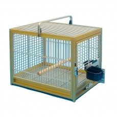 Cage de Transport Perroquet en Aluminium - KING'S CAGES TC03