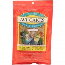 Lafeber - Avi-Cakes - Friandise pour Perruches, Grandes Perruches et Petits Perroquets - 230 gr