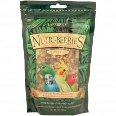 Lafeber - Nutri-Berries Tropical Fruit 284 gr - Repas Complet pour Petites et Grandes Perruches