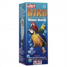 Lixit - Abreuvoir Biberon en Verre Pipette Inox Large - 480 ml