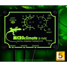 """Thermostat Reptile MICROCLIMATE """"Dimming"""" B1ME (Jour/Nuit)"""