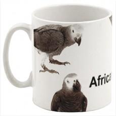 Mug perroquet Gris du Gabon