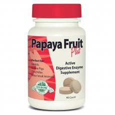 Oxbow - Papaya Fruit Plus - Enzymes Contre les Boules de Poils - 90 cachets