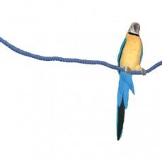 Liane de Coton Bleue Pour Grandes Perruches - Medium