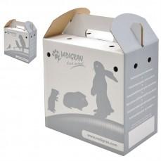 Boites de Transport en Carton pour perruches et Grandes perruches
