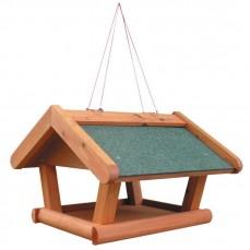 Mangeoire à oiseaux du Ciel à Suspendre Evolène avec Toit Vert