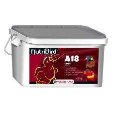Nutribird A18 - Pâtée Élevage pour Loris et Loriquets - 3 kg