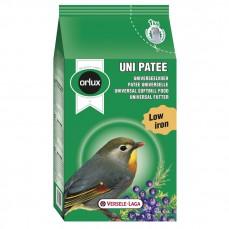 Orlux Uni Pâtée - Pâtée Grasse Universelle pour Frugivores et Insectivores - 1 kg