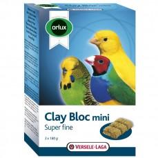 Orlux - Clay Bloc Mini - Trois Blocs d'Argile pour perruches et Exotiques - 3 x 180 gr